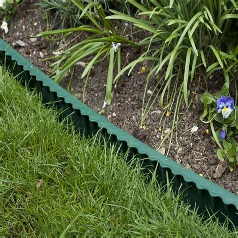 Install Plastic Landscape Edging Easy Install Lawn Plastic Lawn Edging 6m On Sale Fast