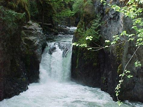 of river falls englishman river falls provincial park bc parks