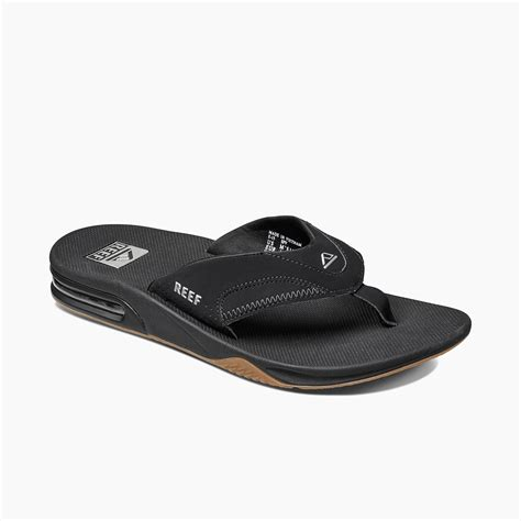 reef fanning mens size 10 galleon reef fanning mens sandals bottle opener flip