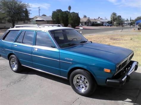 nissan datsun 1978 blue violet 1978 datsun 510 wagon
