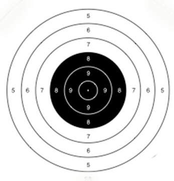 printable 200 yard rifle targets cmp first shot online