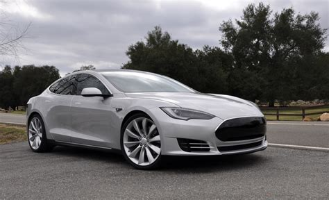 Tesla Silver Tesla Model S Nearing Production Stage