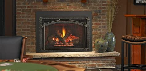 venting  fireplace inserts heat glo