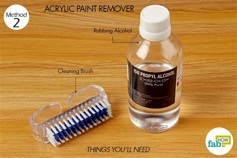 how to clean acrylic how to use rubbing alcohol for cleaning and stain removal