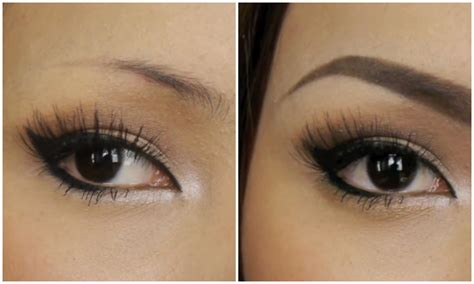 natural eyebrow makeup tutorial for beginners the eye s queen beautiful eye brows for beginners