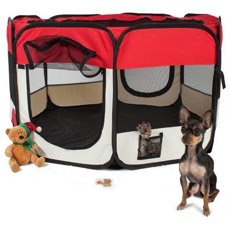 recinto cani interno recinto per cuccioli e cani da interno pieghevole colore rosso