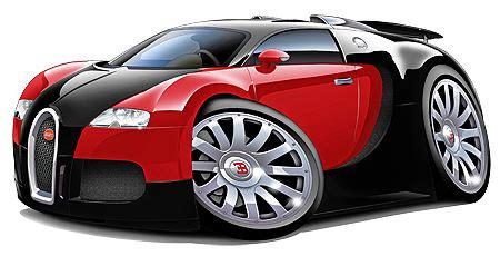 cartoon bugatti bugatti veyron decal wall graphic cartoon car carricature