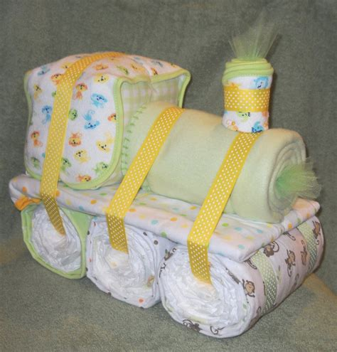 gift for baby choo choo cake for baby shower by cushycreations