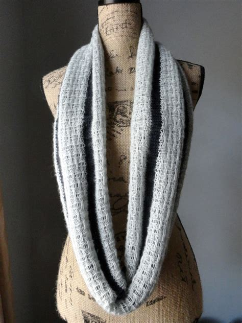 striped knit scarf pattern a striped affair infinity scarf purl avenue