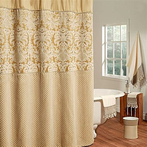 elegant bathroom shower curtains buy elegant shower curtains from bed bath beyond