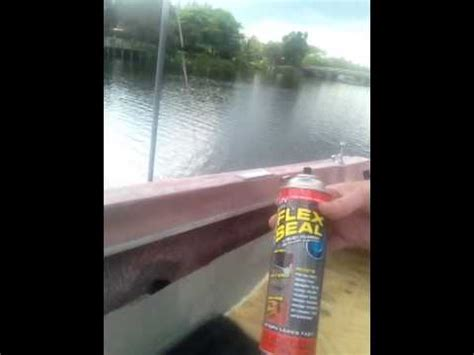 rebuild boat deck  stringers  flex seal  treated