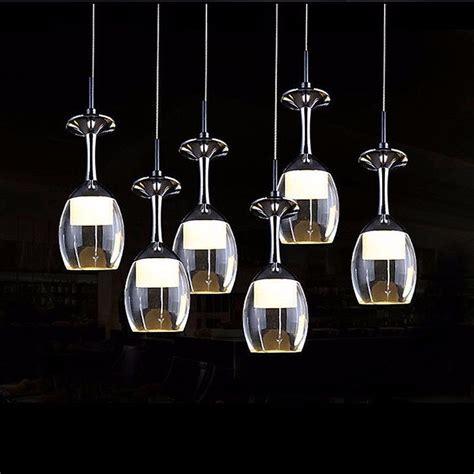 Wine Glass Light Fixture New Modern Led Wine Glass Ceiling Light Pendant L Fixture Lighting Chandelier Ebay