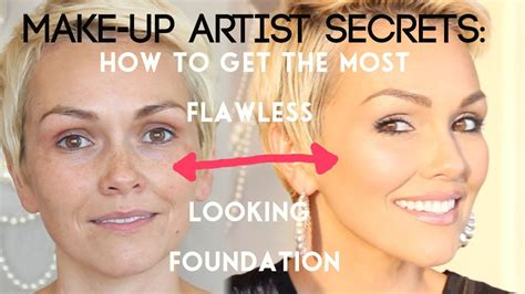 makeup artist secrets how to look airbrushed without an