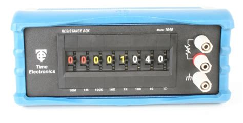 resistance decade box precision decade box time
