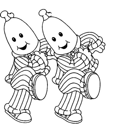 banana coloring page free printable coloring pages bananas in pajamas coloring pages coloring home