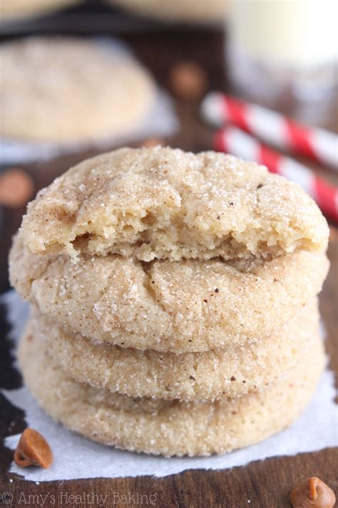 Forget The Snickerdoodle A Snickers Cookie Instead by Eggnog Snickerdoodles Recipe S Healthy Baking