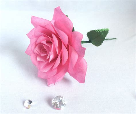 Artificial Paper Flower - paper roses coffee filter flowers faux flowers