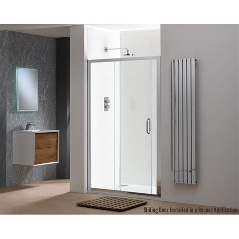 Classic Nouveau 6mm Sliding Doors With Easy Clean Glass How To Clean Sliding Shower Doors