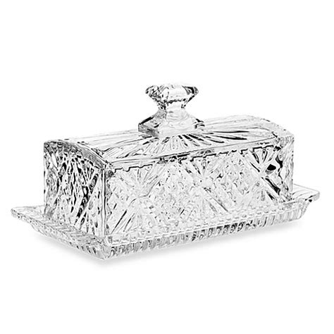 bed bath and beyond dublin ca godinger dublin crystal covered butter dish bed bath
