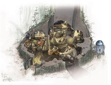 hutte wars dagobah hutte de yoda encyclop 233 die wars holonet