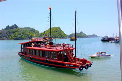 party boat halong bay castaway island vietnam review best party boat in halong