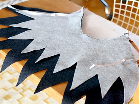 diy easy halloween wings