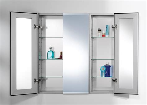 20 collection of 3 door medicine cabinets with mirrors