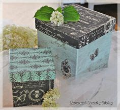 decoupage box on pinterest decoupage altered boxes and