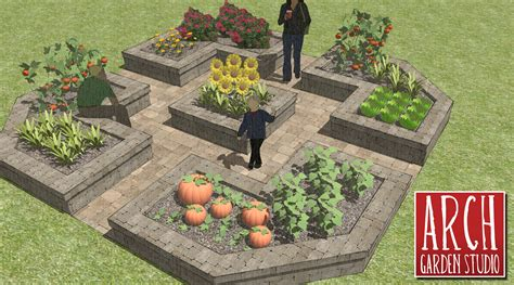 Layout Of Garden How To Make A Raised Vegetable Garden Home Raised Vegetable Garden 17 Best 1000 Ideas About