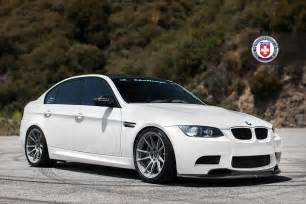 bmw e90 m3 on battleship grey hre wheels autoevolution