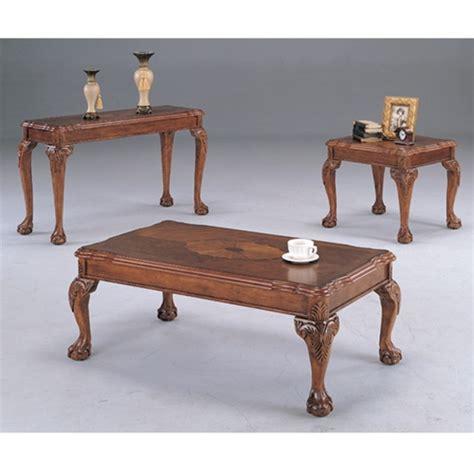 and claw coffee table and claw coffee table by coaster 3074
