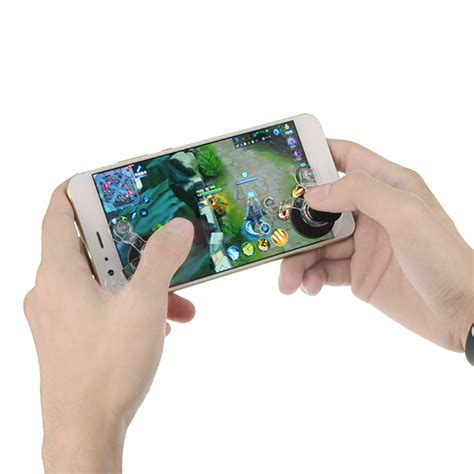 Gamepad Touch Screen Phone Tablet It Joystick Gaming Phone Pad universial touch screen rotation joystick arcade controller sucker for mobile phone tablet