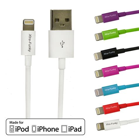 apple mfi certified lightning sync data charger cable for iphone 5 6 ipod ebay
