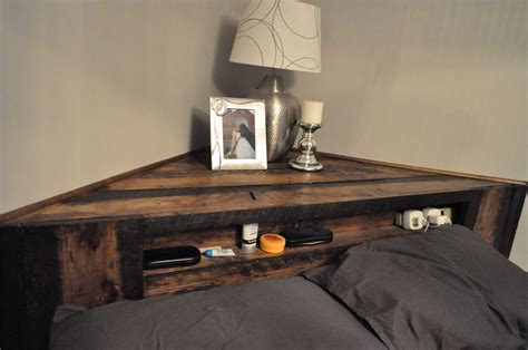 home decor made from pallets taking a bedroom from bland to an oasis home diy messy