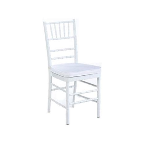 White Chairs For Hire by White Chair White Cushion Chair Hire Co