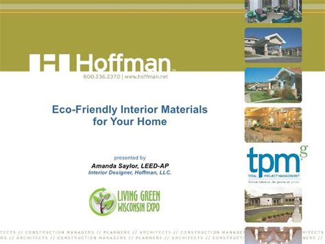 Eco Friendly Interior Design Materials by Eco Friendly Interior Materials