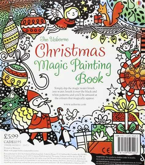 christmas magic painting book 90 usborne christmas coloring book nativity christmas patterns to colour 13 usborne