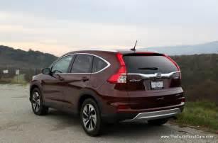 Honda 2015 Crv Review 2015 Honda Cr V Touring With