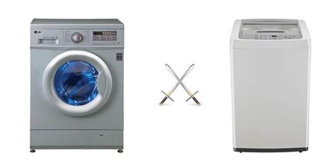 Which Automatic Washing Machine Is Better Front Load Or Top Load - washing machine buying guide front loading vs top