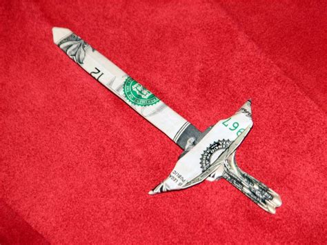 Origami Swords - 13 curated money origami ideas by ljmy photo and