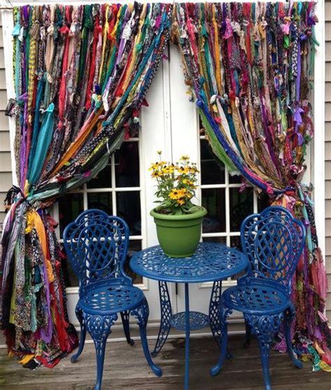 cortinas artesanales como hacer cortinas artesanales con tiras de tela