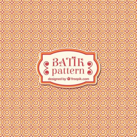 pattern batik free vector batik ornamental pattern vector free download