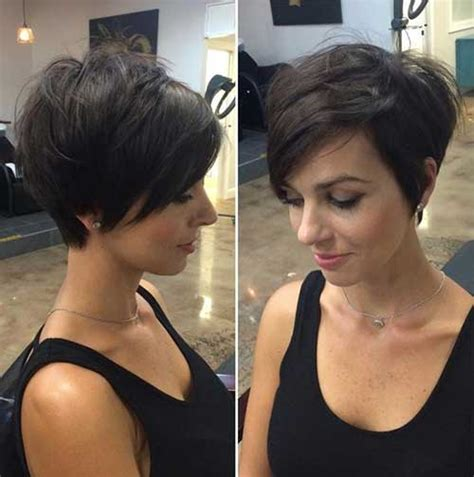 20 Longer Pixie Cuts   Short Hairstyles 2016   2017   Most