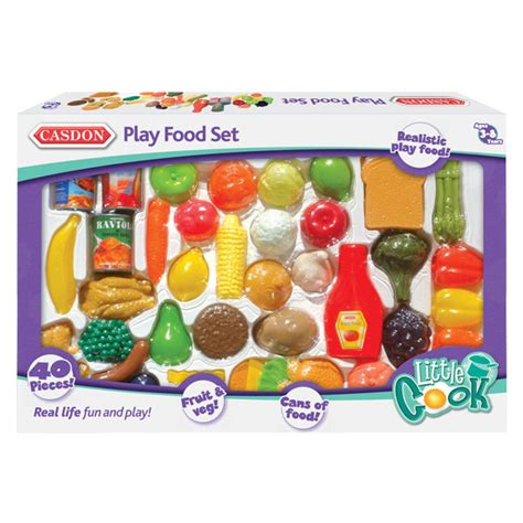 food toys play food set casdon toys