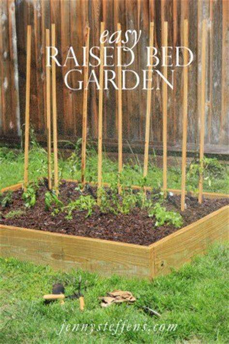 easy raised bed garden 18 easy to make diy raised garden beds