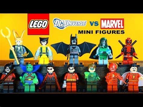 Lego Marvel The Minifig Series Bootleg lego superheroes dc vs marvel decool bootleg 0101 0109