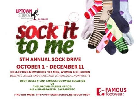 sock drive sock drop sac sock drive presented by loaves fishes sacramento365
