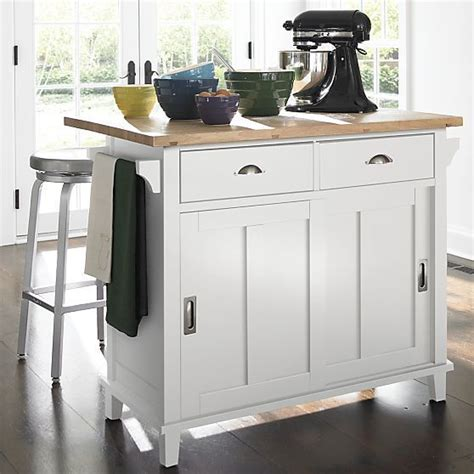 Crate And Barrel Kitchen Island by Crate And Barrel Belmont White Kitchen Island Want