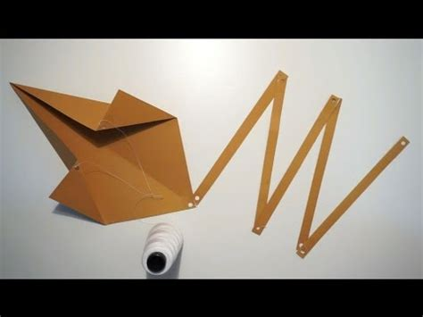 A Kite Out Of Paper - how to make a lebanese kite out of a sheet of paper by