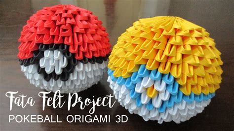 How To Make Origami Balls - how to make poke origami 3d fatafeltproject